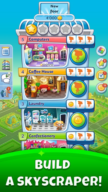 Pocket Tower -Tiny Metropolis screenshot-0