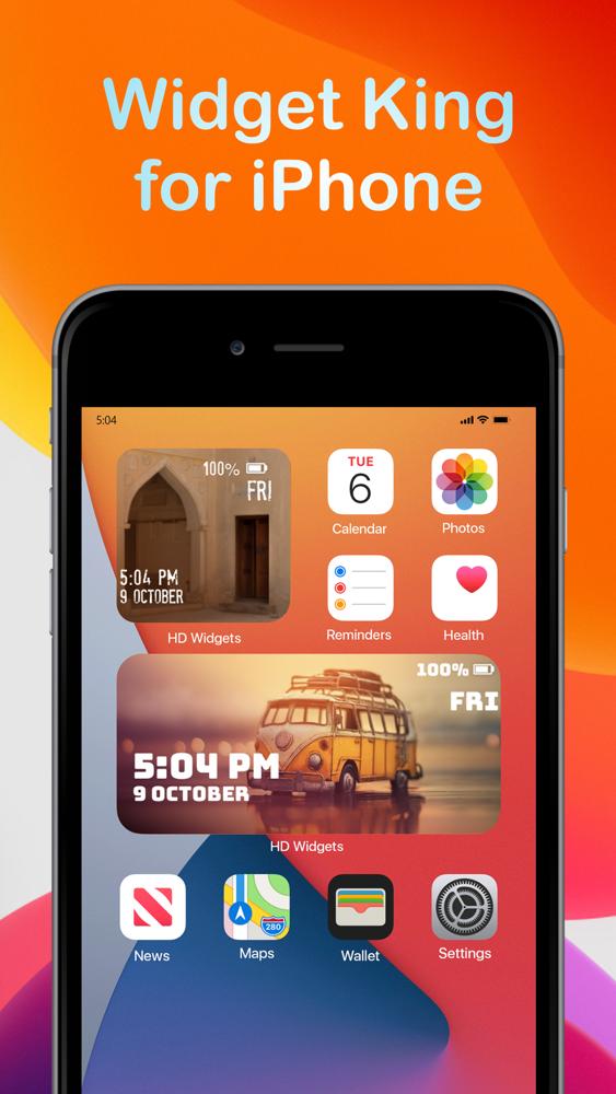 custom widget apps ios 14