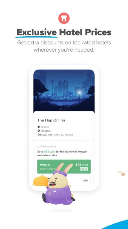 Hopper - Flight & Hotel Deals screenshot-4