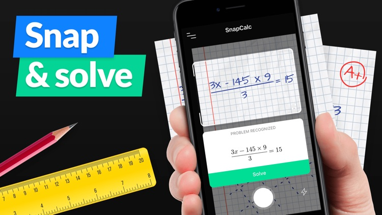 SnapCalc - Math Problem Solver screenshot-0