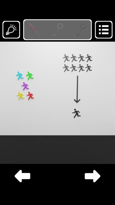 脱出ゲーム - 白黒のカギのおすすめ画像3
