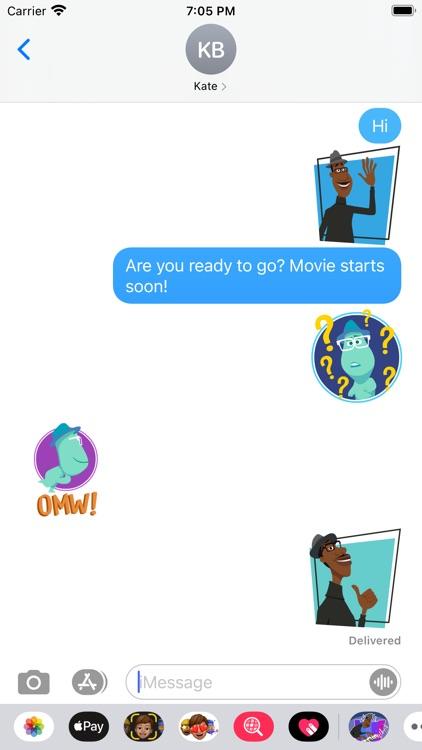 Pixar Stickers: Soul