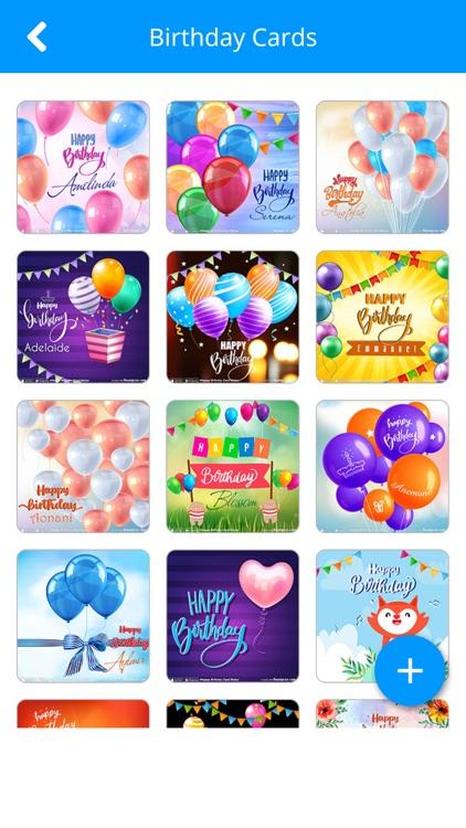 Happy Birthday Card Maker screenshot-7