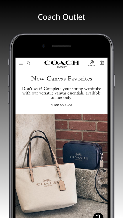 messages.download Coach Outlet software