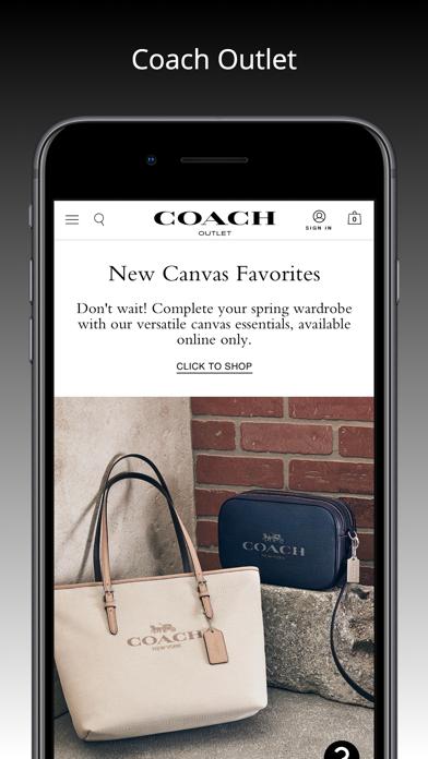 cancel Coach Outlet app subscription image 1