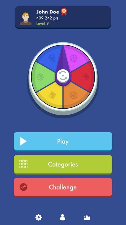 Trivial Quiz Pursuit Knowledge