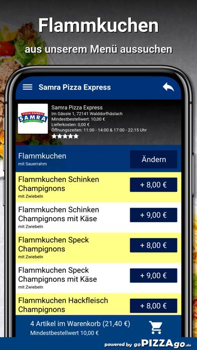 Samra Pizza Walddorfhäslach screenshot 5