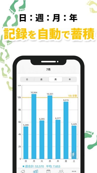 歩数計 Accupedo  シンプル歩数計アプリのおすすめ画像3