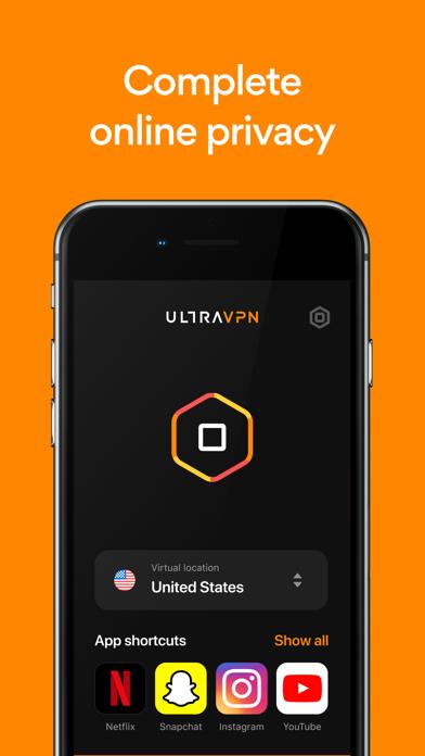 Ultra VPN: Unlimited VPN Proxy Screenshot