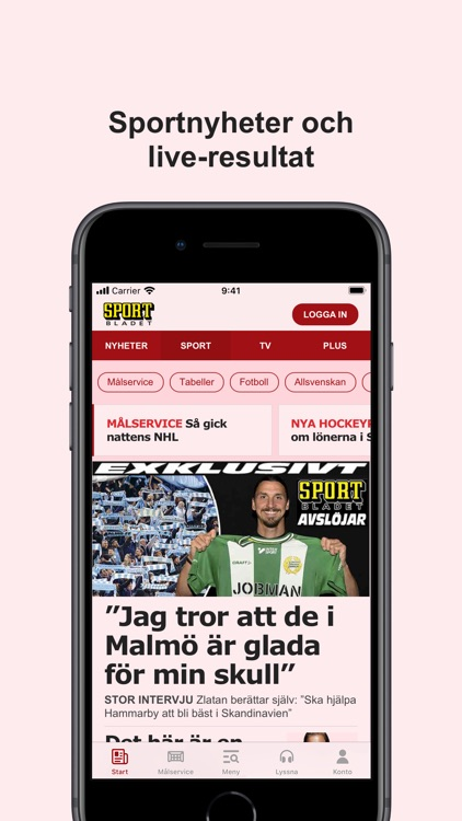 Sportbladet screenshot-2