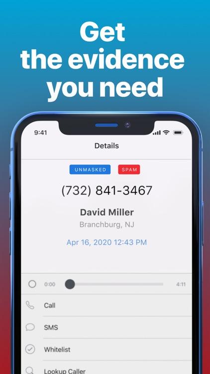 TrapCall: Reveal No Caller ID screenshot-3