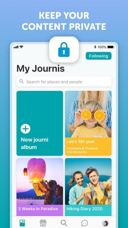 Journi Blog - Travel tracker screenshot-3