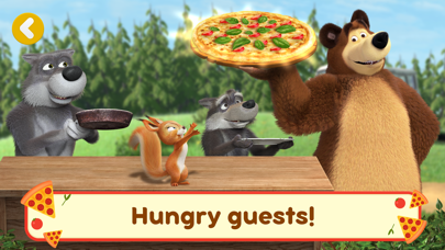 Screen Shot Masha and the Bear Pizzeria! 3