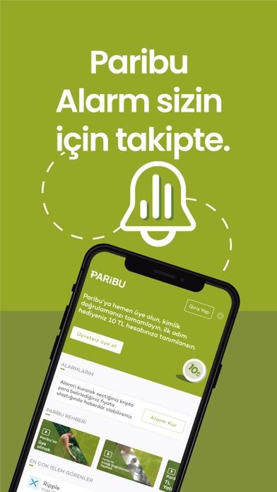 Paribu iphone ekran görüntüleri