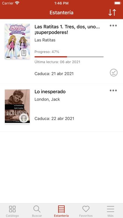 Bibliotecas Diputación Badajoz screenshot-3