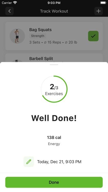 DAC Fitness. screenshot-5