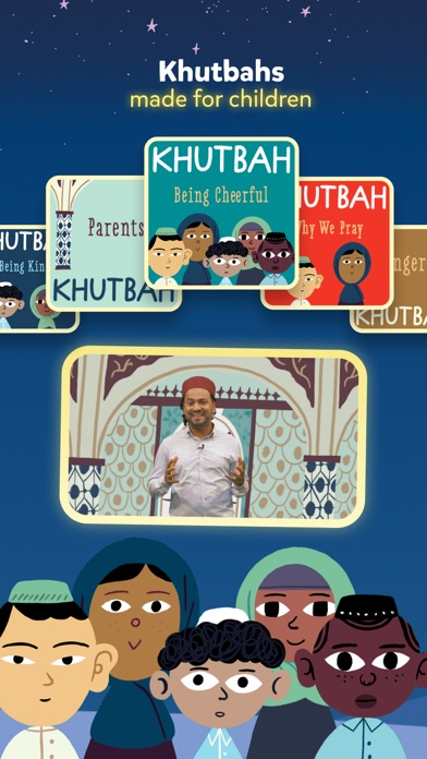 Miraj Islamic Stories for Kids Screenshot