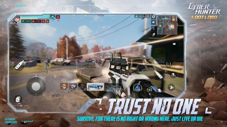 Cyber Hunter screenshot-5