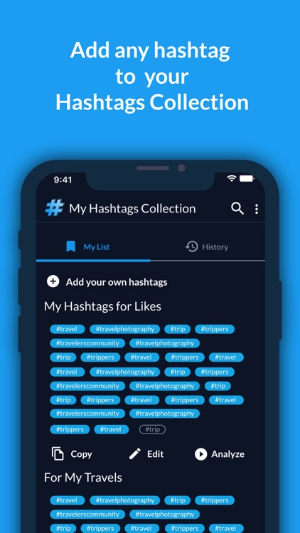 Hashtags Manager: AI screenshot-5