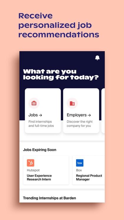 Handshake Jobs & Careers screenshot-0