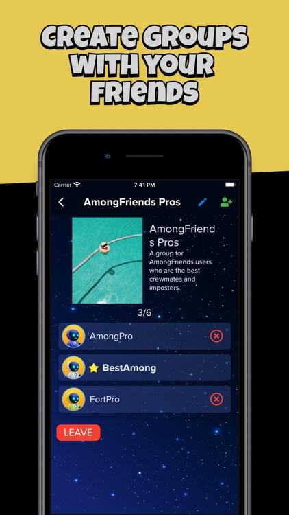 AmongFriends - Chat Among Crew screenshot-5