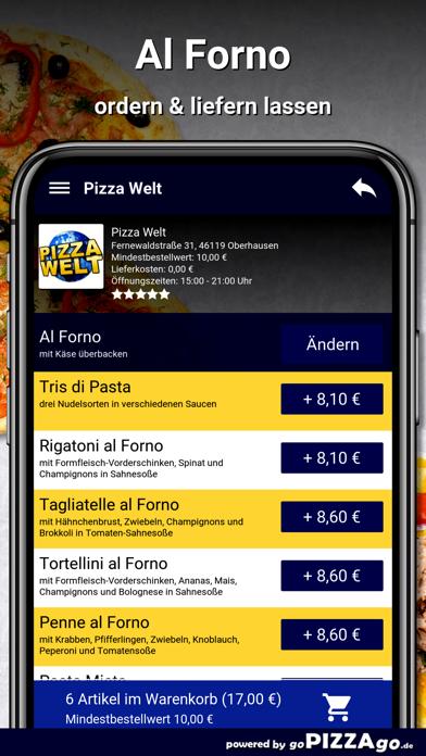 Pizza-Welt Oberhausen screenshot 6
