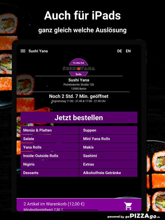 Sushi Yana Berlin screenshot 7