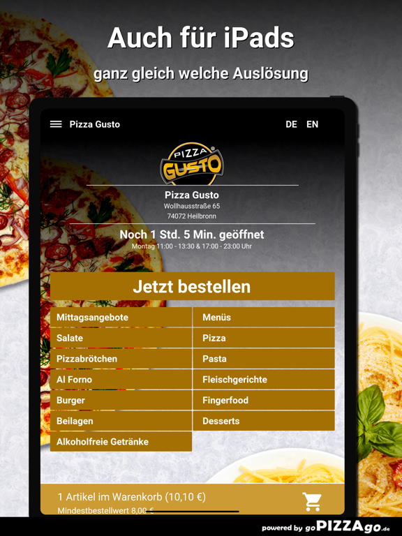 Pizza Gusto Heilbronn screenshot 7