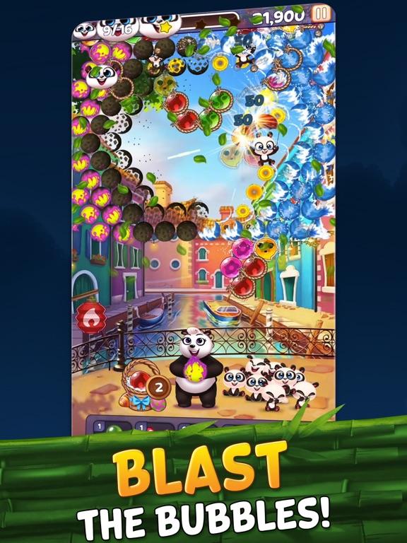 Bubble Shooter - Panda Pop! iPad app afbeelding 7