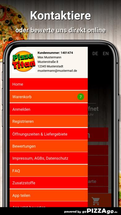 Pizza Titan Kippenheim screenshot 3