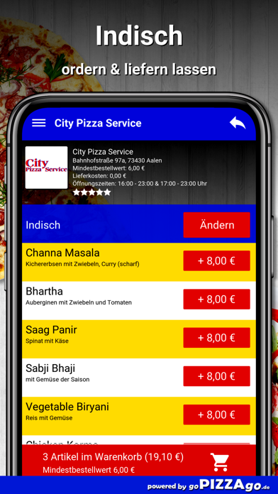 City Pizza Service Aalen screenshot 6