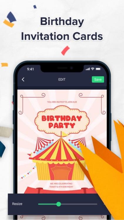 Birthday Card Maker - Editor screenshot-5