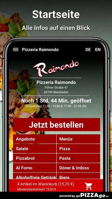 Pizzeria Raimondo Wiesbaden screenshot 2
