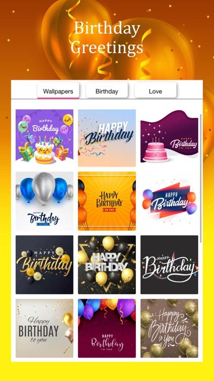 Happy Birthday Video Maker screenshot-7