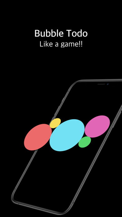 BubbleTodo - 할일 관리 앱 screenshot 1