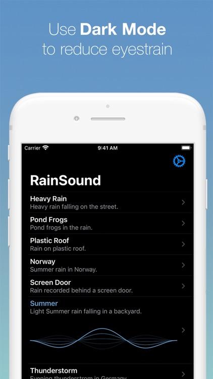 RainSound: Focus, Relax, Sleep screenshot-4