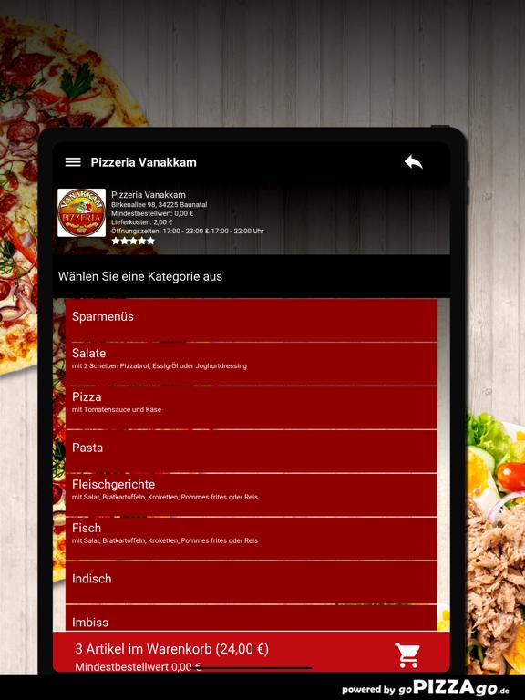 Pizzeria Vanakkam Baunatal screenshot 8
