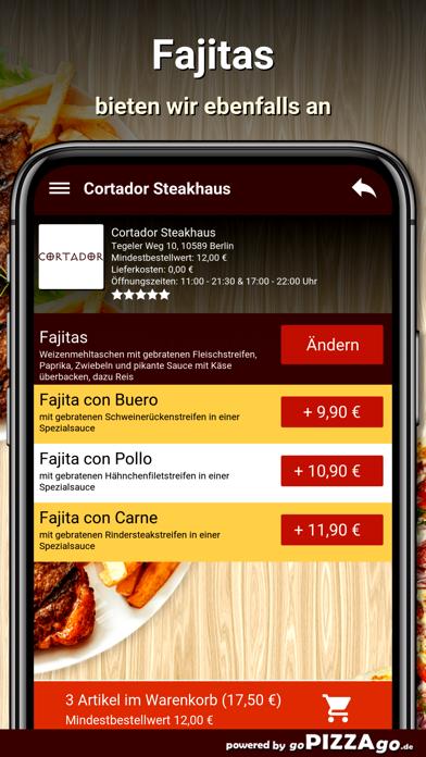 Cortador Steakhaus Berlin screenshot 6