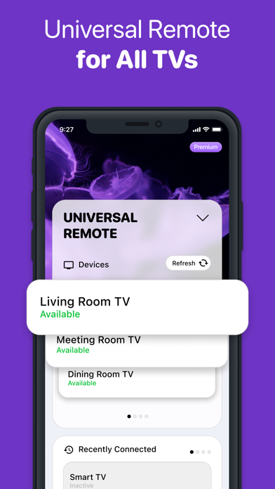 Universal Remote - TV Control iPhone app afbeelding 3