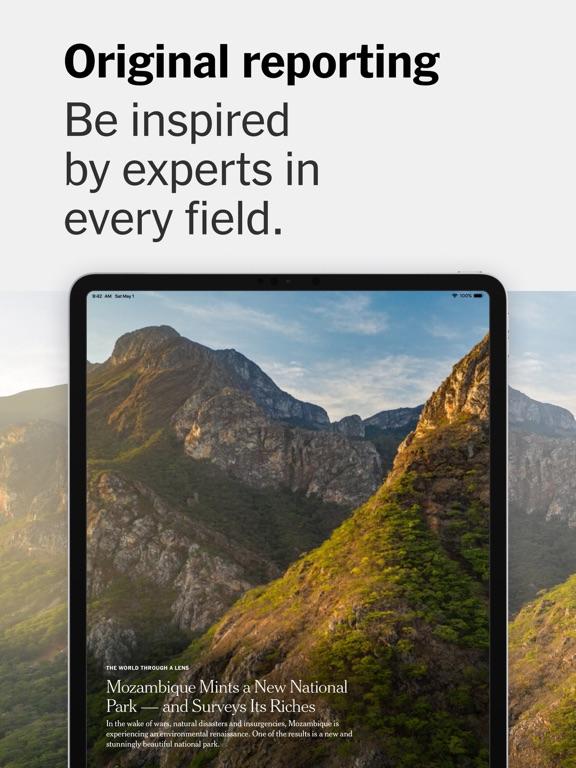 The New York Times iPad