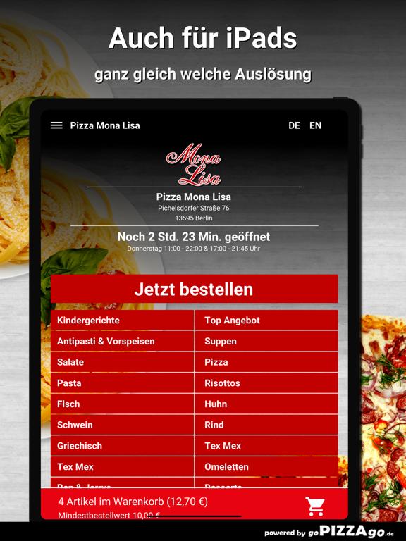 Pizza Mona Lisa Berlin screenshot 7