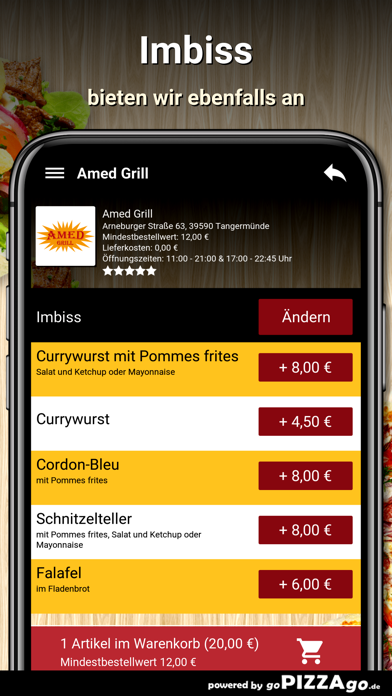 Amed Grill Tangermünde screenshot 6