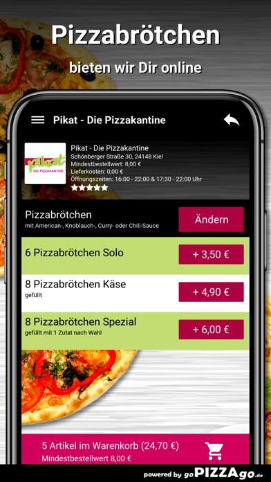 Pikat - Die Pizzakantine Kiel screenshot 5