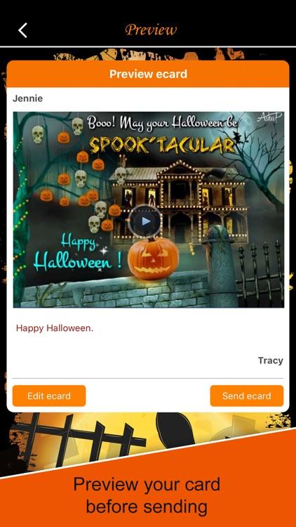 Halloween ecards & Greetings screenshot-4