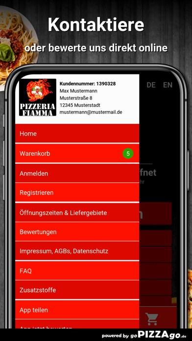 Pizzeria Fiamma Essen screenshot 3