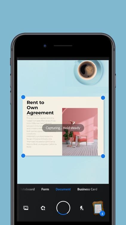 Adobe Scan: Mobile PDF Scanner screenshot-6