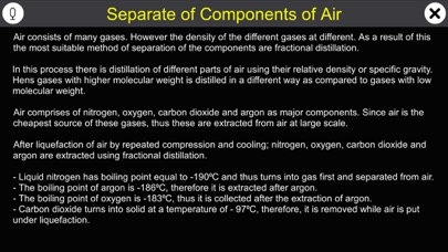 Separate of Components of Air screenshot 1