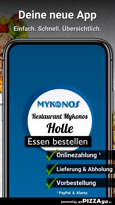 Restaurant Mykonos Holle screenshot 1