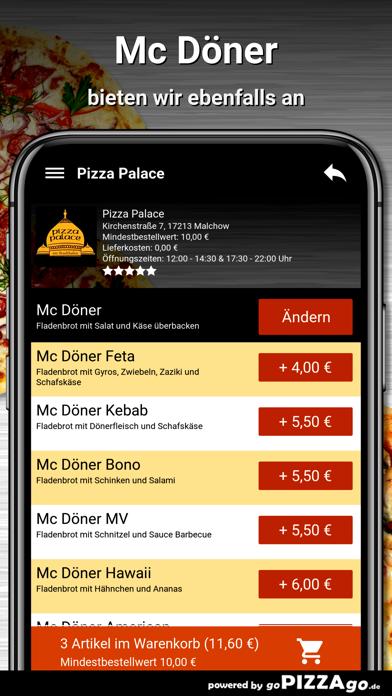 Pizza Palace Malchow screenshot 6