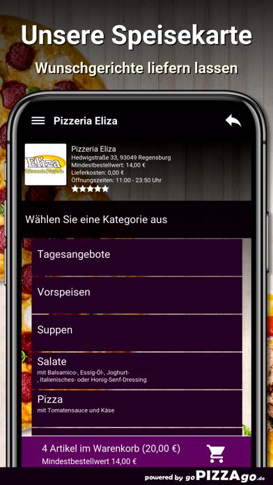 Pizzeria Eliza Regensburg screenshot 4